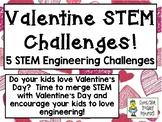 Valentine STEM Challenge Pack - STEM Engineering Challenge
