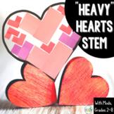 """Valentine's Day STEM Design Challenge: """"Heavy"""" Hearts"""