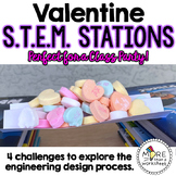 Valentine STEM Stations