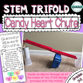 Valentine STEM Trifold: Candy Heart Chute