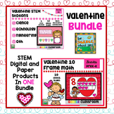 Valentine STEM and Digital  Math Pack