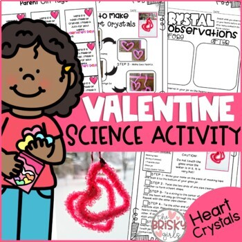 Valentine Science Activity- Heart Crystals