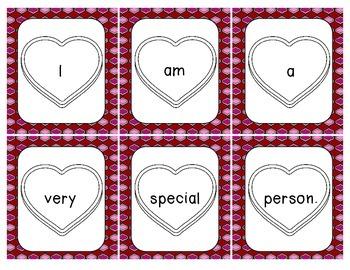 Valentine Scrambled Sentences