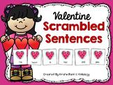 February Writing / Valentine Activities / Scrambled Sentences