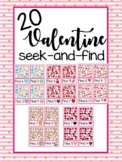 Valentine Seek And Find Visual Discrimination