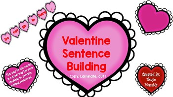 Valentine Sentence Building