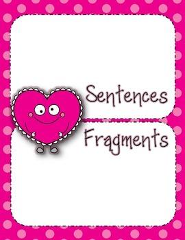 Valentine Sentence Sort