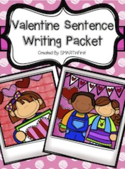 Valentine Sentence Writing Packet