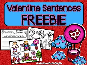 Valentine Sentences FREEBIE