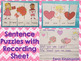 Valentine Sentences  {Pocket Chart Stations}