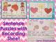 Valentine Sentences  {Pocket Chart Stations}