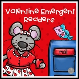 Valentine Set of Four Emergent Readers for Preschool and Kinders