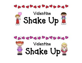 Valentine Shake Up