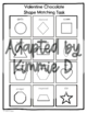 Folder Game: Valentine Shape Matching for Students with Autism & Special Needs