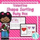 Valentine Shape Sorting Busy Box