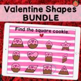 Valentine Shapes Boom Bundle   13 Shape Identification Games