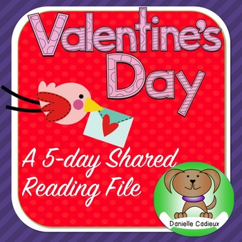 Valentine Shared Reading SMARTboard Notebook file