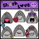 Valentine Shark Love Clipart