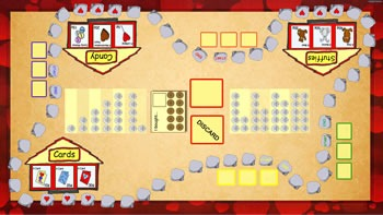 Valentine Shopping Game - US Coins (ActivTable, PDF)