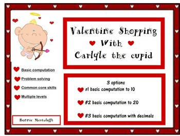 Valentine Shopping with Carlyle the Cupid