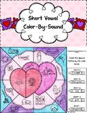 Valentine Short Vowel Color-By-Sound