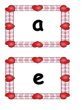 Valentine Short Vowel Sort