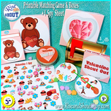 Valentine Shout Out Bundle, Spot the Match + I Spy Games +  Box