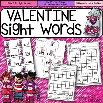 Sight Word Activities VALENTINE!