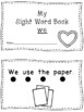 Valentine Sight Word Book - We
