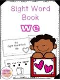 Valentine Sight Word Book - We