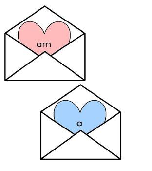 Valentine Valentine's Day Sight Word Game