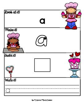Valentine Sight Word Mats: Pre-Primer Edition