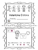 Valentine Colors~ Sight Word Sound Reader