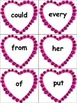 Valentine's Day Sight Word Write the Room Activity with Worksheet