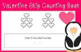Valentine Skip Counting by 5's (Math Mini Book)