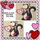 Valentine Skunk Craft: February Craft