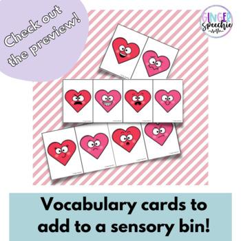 Valentine Smash Mats | Bonus Sensory Bin Cards