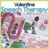 Speech and Language Themed Therapy Unit for Mixed Groups:  VALENTINE