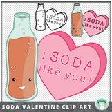 Valentine Soda Clip Art