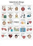 Valentine Song Bingo