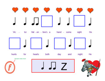 "Valentine's Day Song | ""Victor Valentine"" Circle Game 
