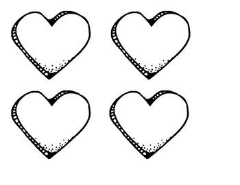 Valentine Sorting Pieces