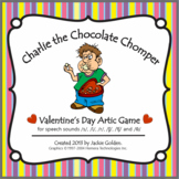 Valentine Speech Artic Game -s, l, sh, ch, th, r- Charlie the Chocolate Chomper