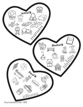 Valentine Speech Therapy Articulation All Sounds No Prep