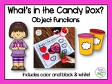 Valentine Speech Therapy: Object Functions