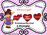 Valentine Speech Therapy Promethean Flip Chart and Printables Mega Pack