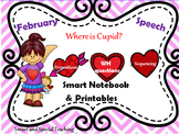 Valentine's Day Speech Therapy Smart Notebook and Printables Mega Pack