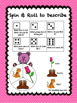 Valentine Spin & Roll - Describing with Attributes