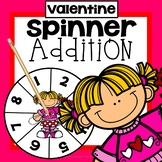 Valentine Addition Game First Grade