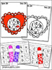 Valentine Spinner Games - Math & Literacy, Pre-K Preschool